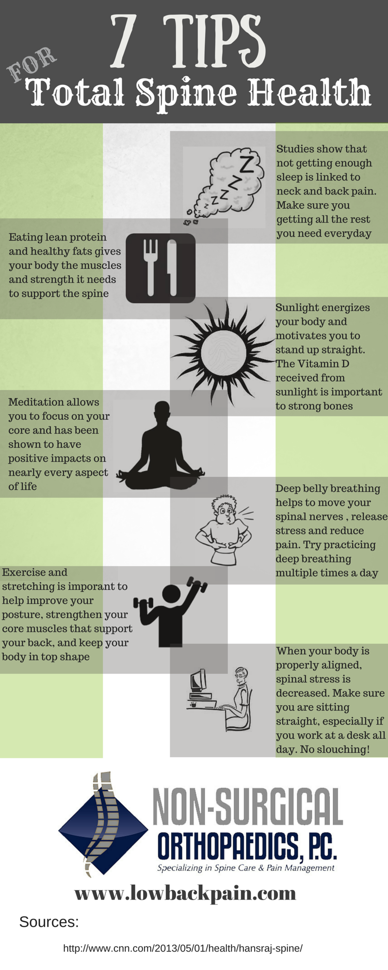 7 tips for total spine health