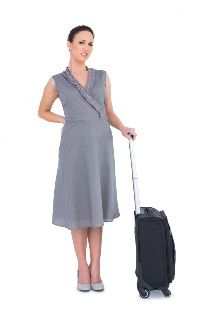 baggage and back pain