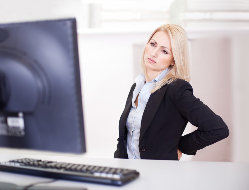 sitting too much could cause back pain